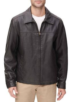 men s big and tall bomber leather