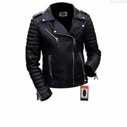 Laverapelle Men's Black Genuine Lambskin Leather Jacket