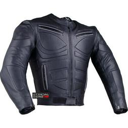 Men's Blade Motorcycle Riding Leather CE Armor Biker Ventila