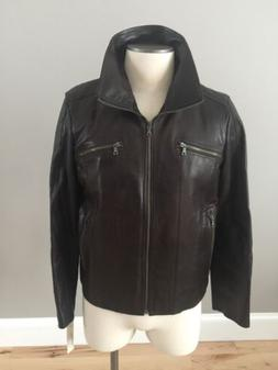 men s faux leather jacket kenneth bomber