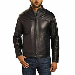 Boston Harbour Men's Genuine New Zealand Lambskin Leather Ja