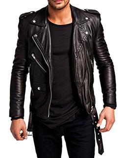 Best Seller Leather Men's Leather Jacket L Black