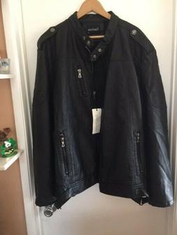 men s leather jacket large