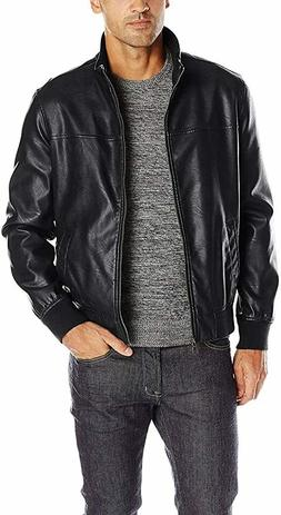 Tommy Hilfiger Men's Smooth Lamb Faux Leather Unfilled Bombe