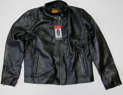 Laverapelle Mens Real Leather Jacket Black - Men's Size XXL