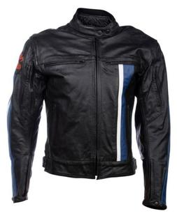 mens s real leather racing biker motorcycle