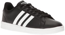 Adidas Men's Neo Cloudfoam Advantage Stripe Sneakers  - 7.5