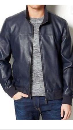 new bue mens size xl faux leather