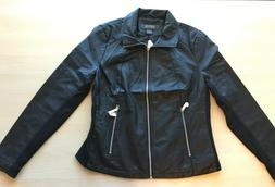 new ladies faux leather jacket