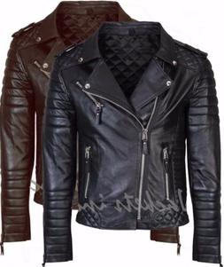 new men s genuine lambskin leather jacket