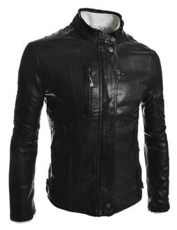 new mens leather jacket soft real lambskin