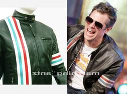 New Tailor Made Film Movie JOHNNY KNOXVILLE Motorcycle Leath
