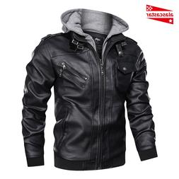 New Vintage Retro Motorcycle <font><b>Jackets</b></font> Men
