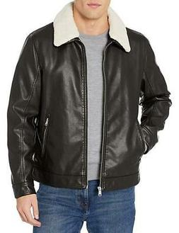 NWT - $225 Tommy Hilfiger Faux Leather Jacket with Removable