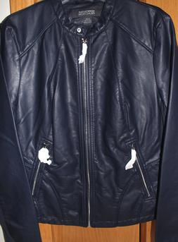 NWT Kenneth Cole Reaction Ladies' Leather Jackets, Motorcycl
