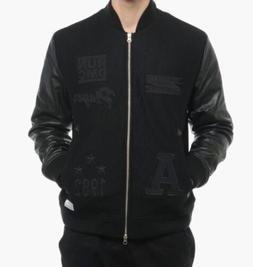 originals run dmc bomber jacket m64169 leather