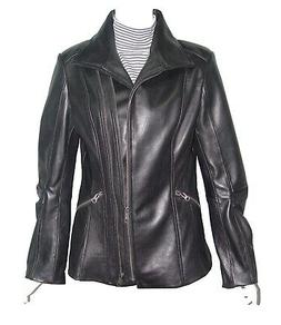 Plus Size & All  4196 Leather Moto Jackets Clothing Womens G