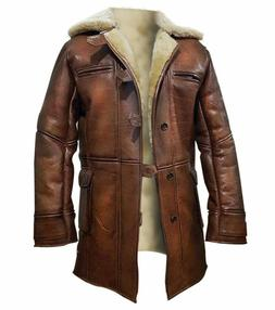 The Dark Knight Rises Tom Hardy Bane Shearling Faux Leather