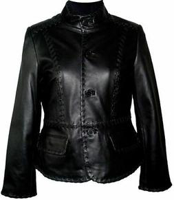 Women Big & All Size 4025 Leather Blazer Jackets Business Cl