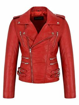 Women's Leather & Faux Leather Jackets & Coats