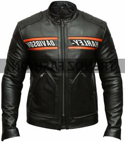 WWE Bill Goldberg Harley Davidson Leather Jacket  Fast Shipp